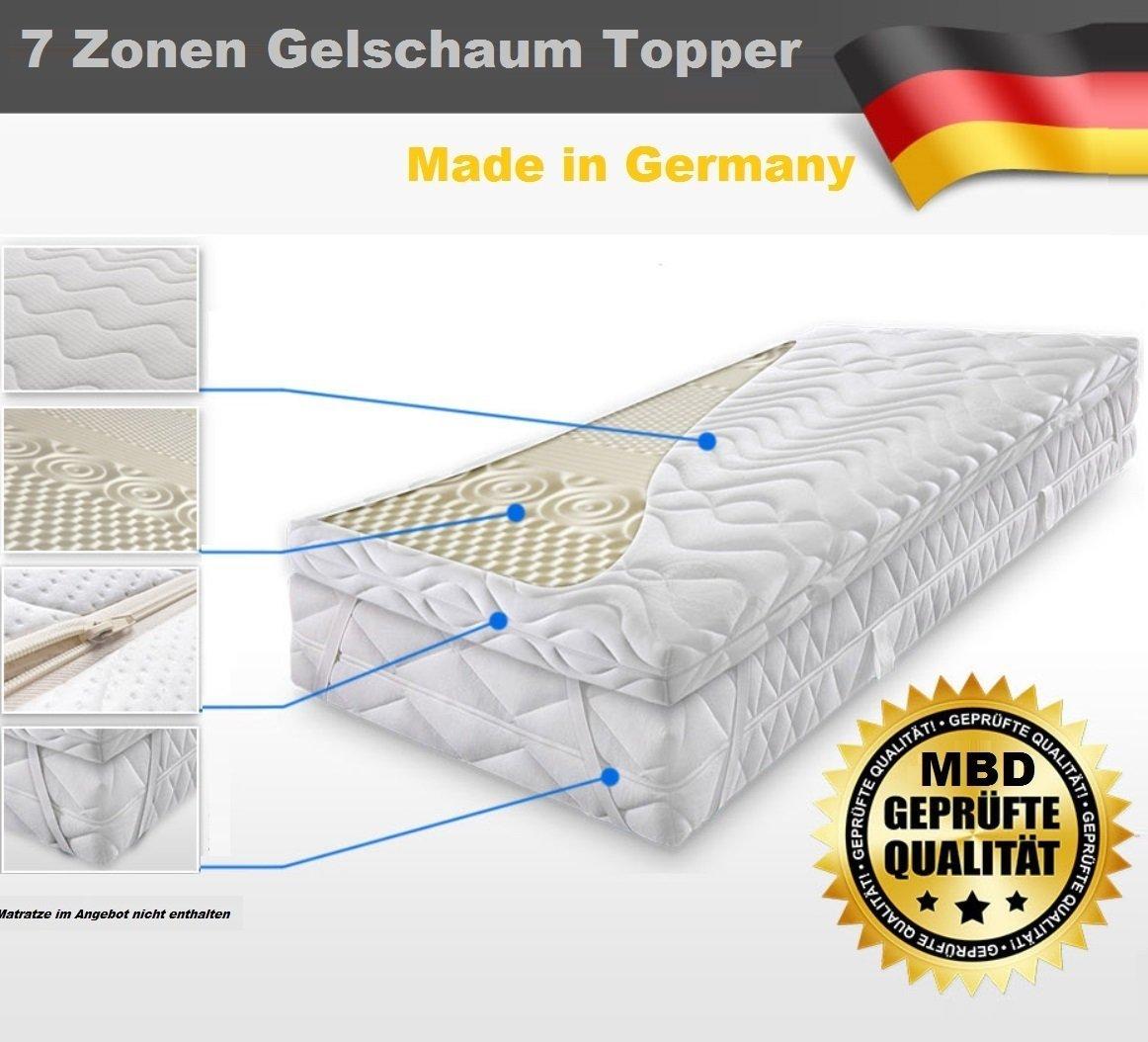 gelschaum topper vergleich 2017 die besten matratzenauflagen aus gel. Black Bedroom Furniture Sets. Home Design Ideas