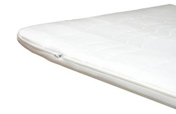 kaltschaum topper von arbd h2 h3 matratzenauflage waschbarer bezug. Black Bedroom Furniture Sets. Home Design Ideas