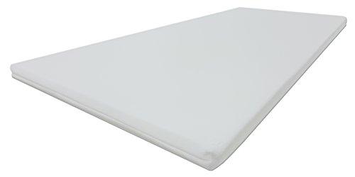 pro soft kaltschaum topper von dibapur matratzenauflage mit 3d air fresh bezug gel topper. Black Bedroom Furniture Sets. Home Design Ideas