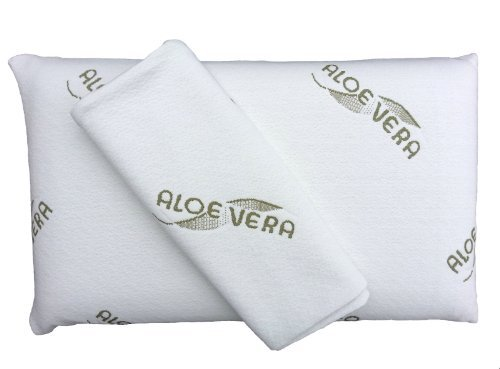 orthop disches nackenst tzkissen aus visco gel mit aloe vera. Black Bedroom Furniture Sets. Home Design Ideas